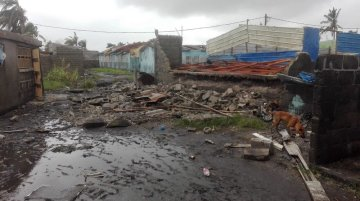 Damages in Beira