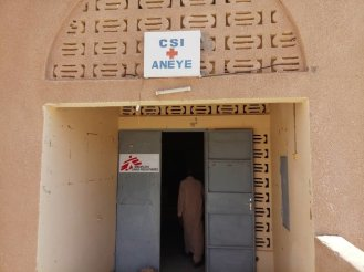 One of the health centers MSF is supporting across Agadez region we help people on the move and vulnerable host communities access free-of-charge and quality medical services.