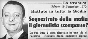 """""""Ho uno scoop che farà tremare l'Italia"""". Le ultime parole di Mauro De Mauro"""