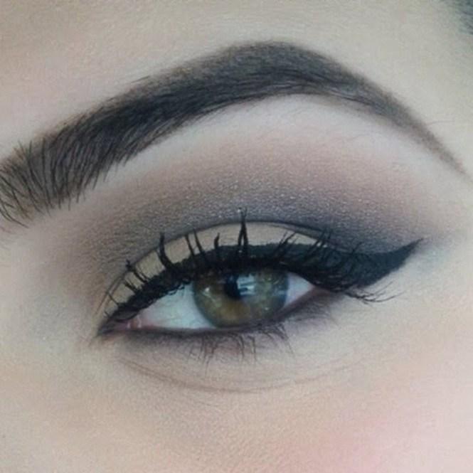 sultry smokey eye