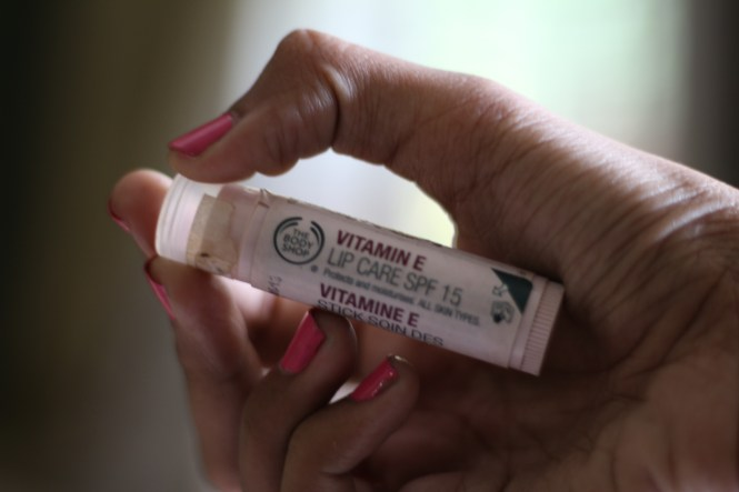 tbs vitamin e lip balm