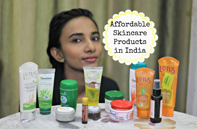 affordable skincare products in india