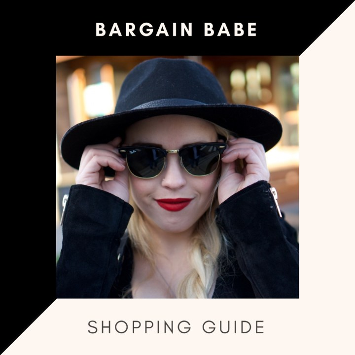 BARGAIN BABE SHOPPING GUIDE