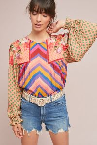 Anthro Eclectic Top