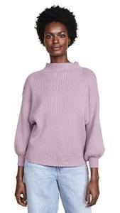 Line&Dot Adler Sweater Lavender Fivefootfeminine