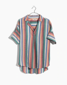 Five Foot Feminine Madewell Festival Stripe Top
