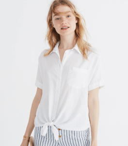 Madewell White Top