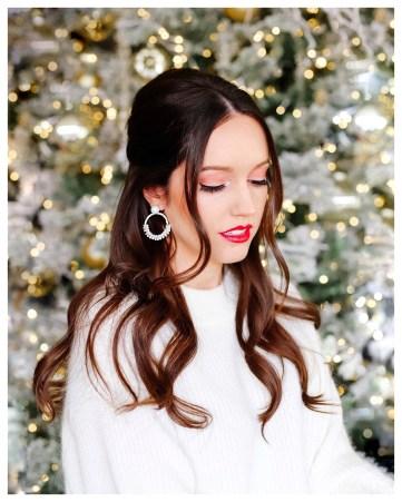 Holiday Makeup on Five Foot Feminine
