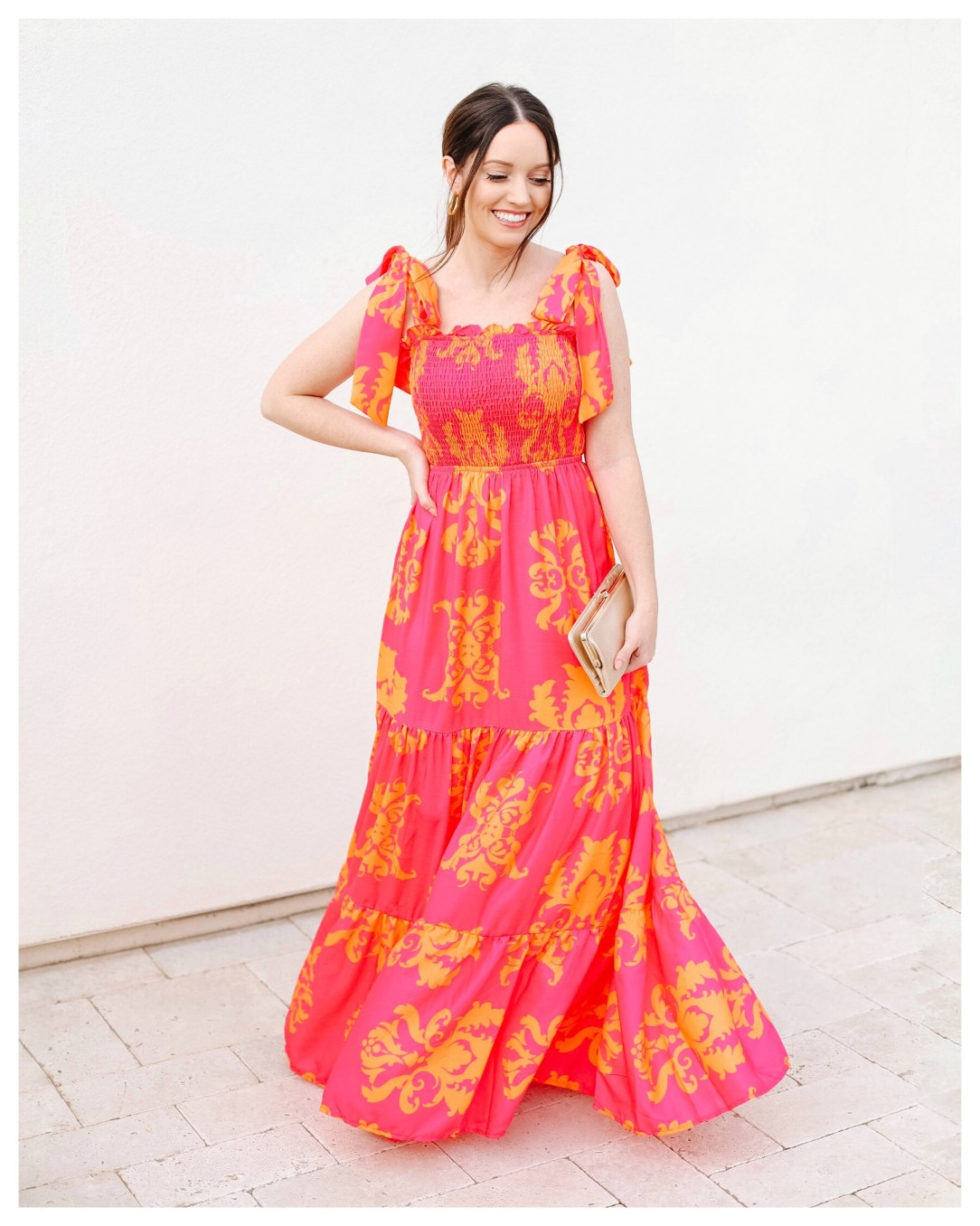 Red Dress On Five Foot Feminine