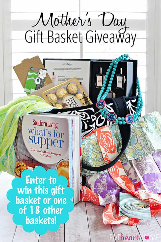 Mothers Day Gift Basket Giveaway