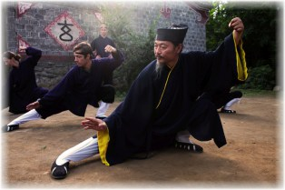 Wudang Tai Chi in Five Immortals Temple