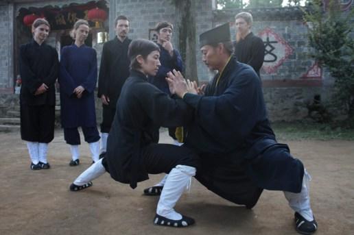 Wudang Tai Chi Tui Shou Training