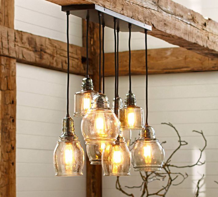 Pottery Barn Sputnik Chandelier: Red Handed (Or, What I Stole From Pottery Barn, Part 2