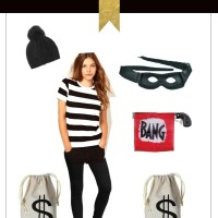 Free Halloween Costume: Bank Robber