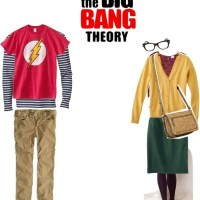 Halloween Couple Costume: Big Bang Theory