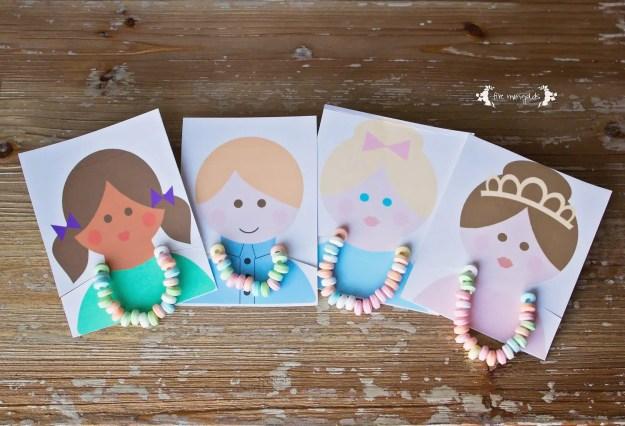Candy Bracelet Valentine's Day Free Printable | www.fivemarigolds.com
