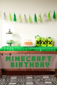 Minecraft Birthday Party on a Budget | Five Marigolds