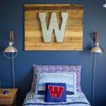Industrial Boy's Bedroom Design. | Five Marigolds