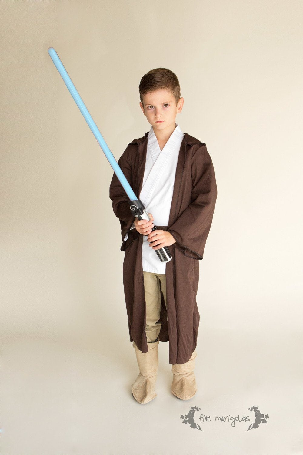 Shop your kids closets for halloween costumes five marigolds shop your kids closet for halloween costumes jedi luke skywalker star wars five solutioingenieria Image collections