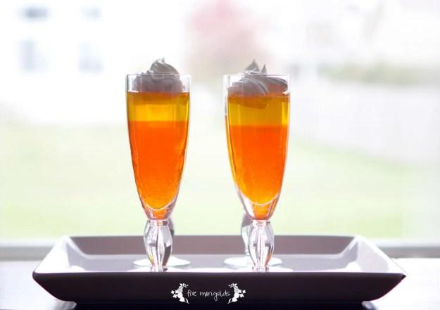 Halloween Treats Round up: Candy Corn Jell-O Parfaits | Five Marigolds