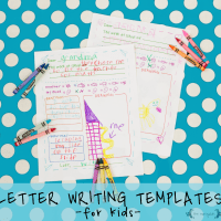 Free Printable Letter Writing Templates for Grandma, Pen Pal