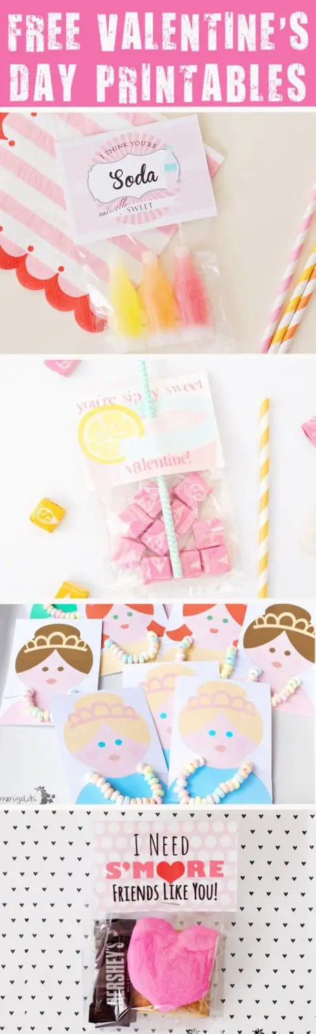 Round up of Favorite Free Valentine's Day Printables | www.fivemarigolds.com