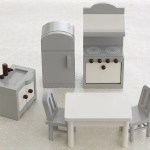 Pottery Barn Kitchen Dollhouse Furniture