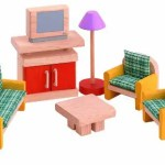 Plan Toy miniature Living Room furniture