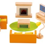 Hape Miniature Living Room Furniture