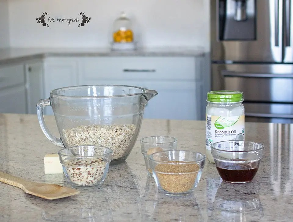 Simple and Skinny Granola Recipe With or Without Oil   Five Marigolds