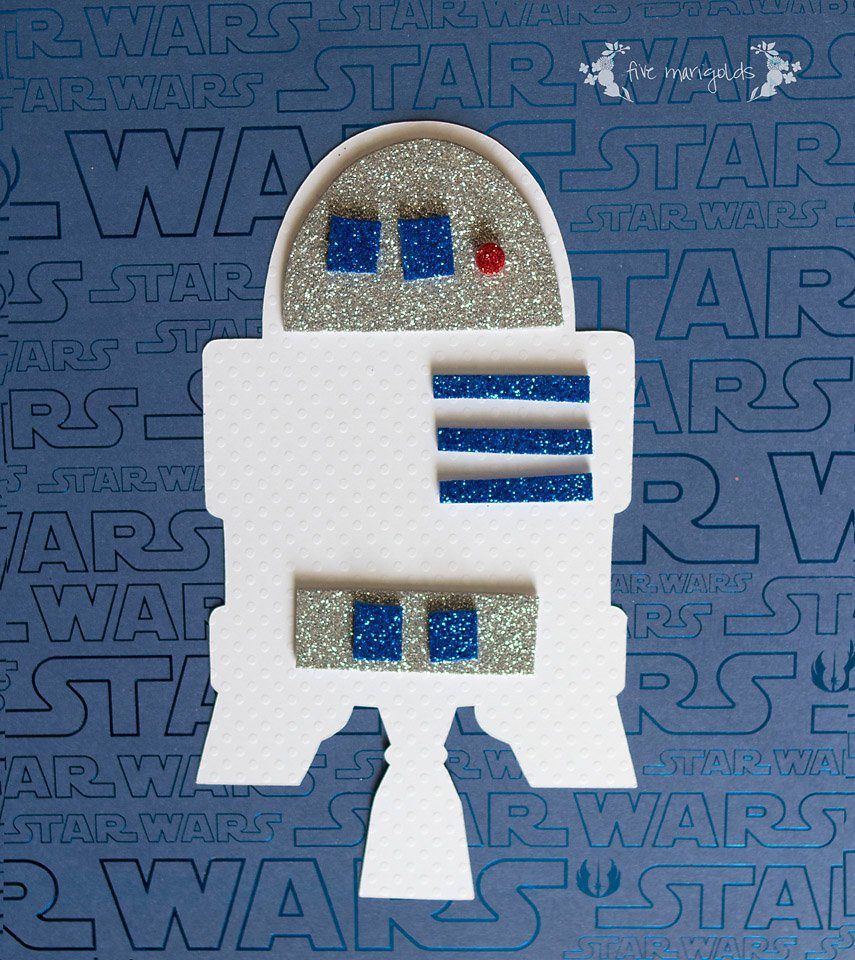 Star Wars Build a Droid R2D2 Craft | Five Marigolds
