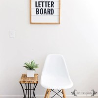 Make the Ultimate Marquee Letter Board