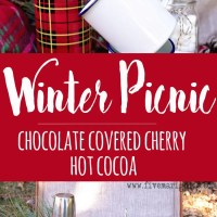 Chocolate Covered Cherry Hot Cocoa