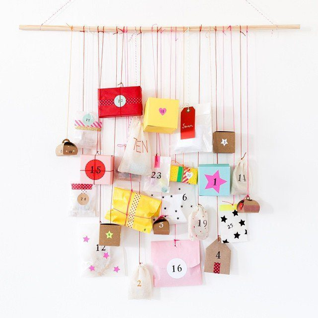 Round-up of 15 Inspiring DIY Advent Calendars | Five Marigolds