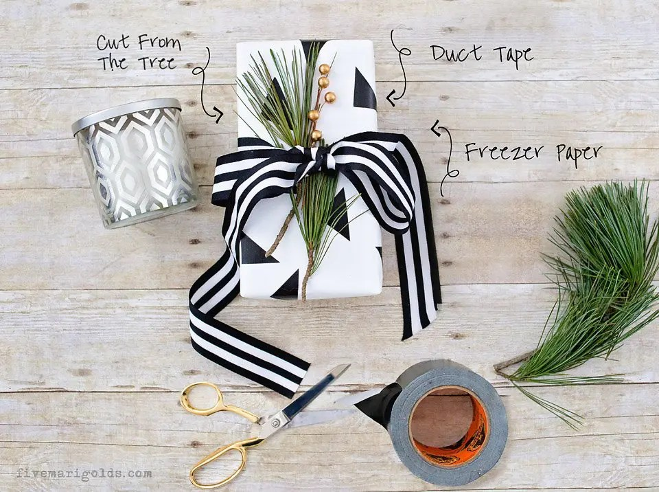 The art of the gift closet for last-minute holiday gifting, plus awesome ideas for DIY gift wrap and toppers. #BigLotsHoliday #ad