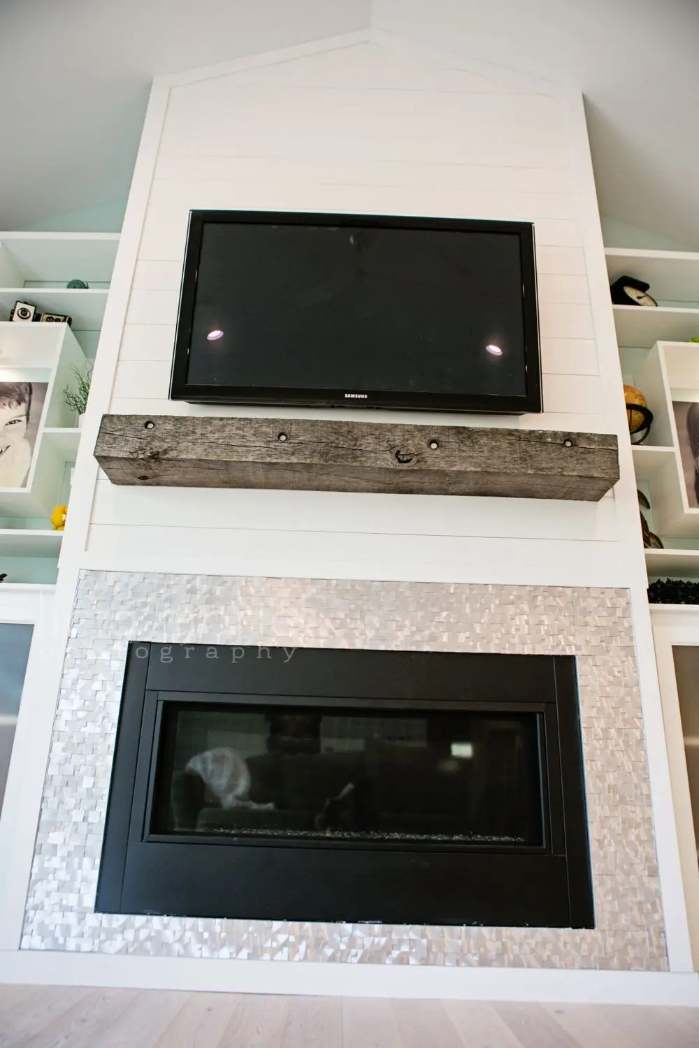 Fixer Upper Reveal: Shiplap and Barn Wood, Oh My! | Five Marigolds