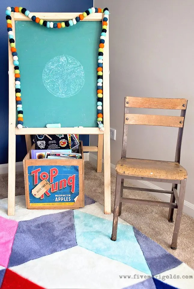 Big Boy Room Reveal: Decor for the Book Worm. | Five Marigolds