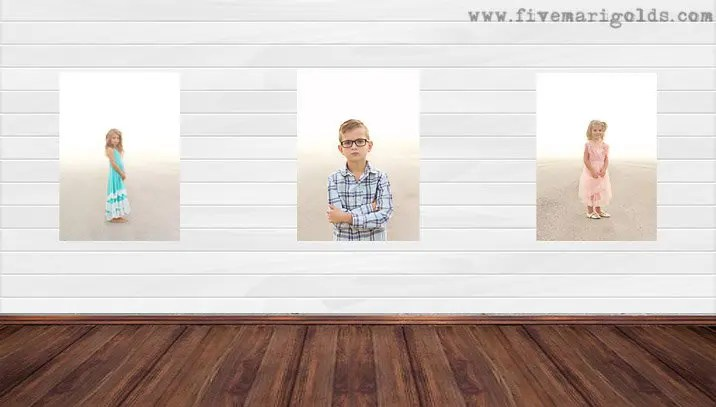 Living Room Makeover One Room Challenge featuring Stikwood Feature Wall | Five Marigolds