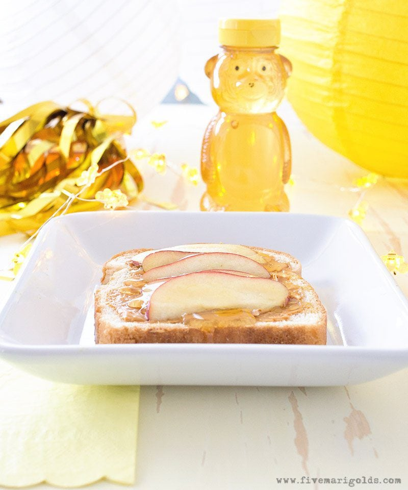 Honey Bear After School Snack | Five Marigolds