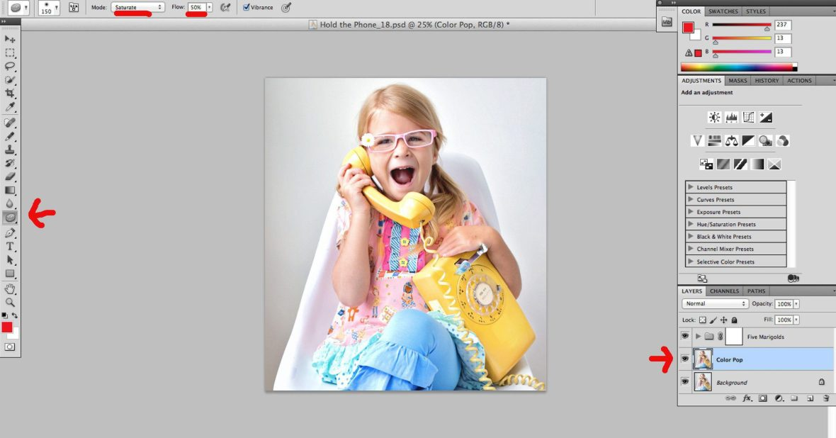 Easy Clean Editing Process: Take Your Photos from Drab to Fab | Five Marigolds