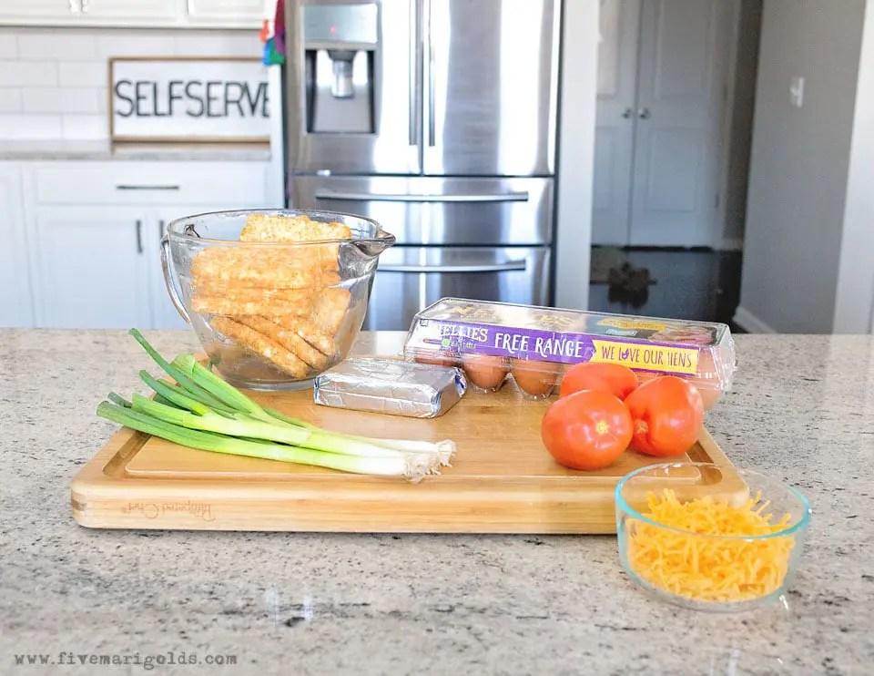 Ham and Cheese Brunch Bake Recipe