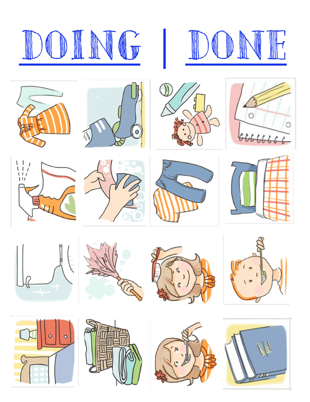 Chore chart printable | Five Marigolds