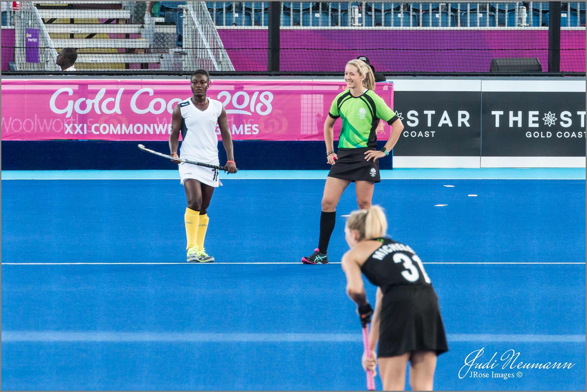 Aleisha at Commonwealth Games