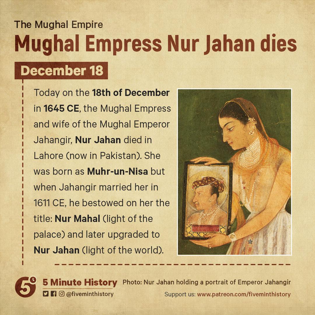 5-Minute-History-Daily-Light-Mughal-Empress-Nur-Jahan-dies-1645