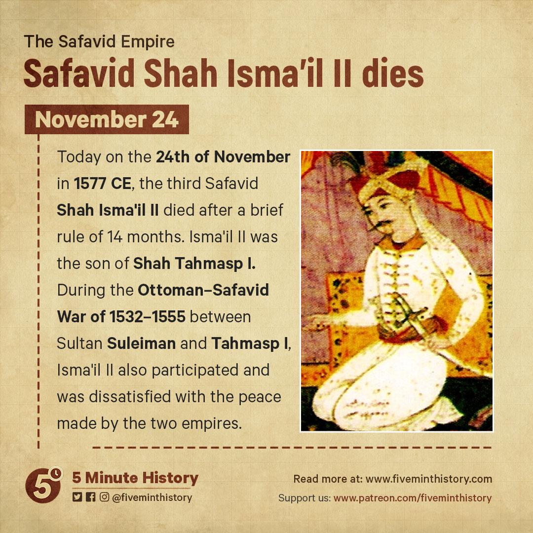 Safavid-Shah-Isma'il-II-dies