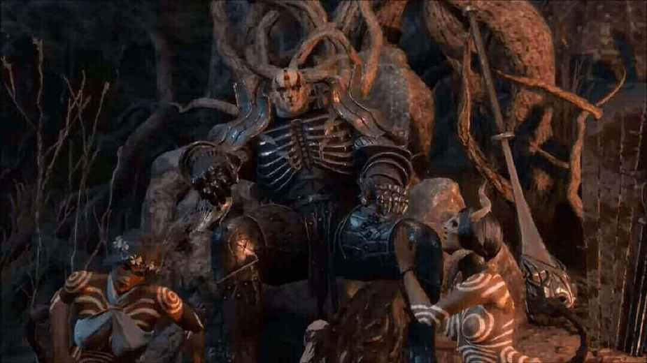 The Witcher 3 Imelrith Boss Fight