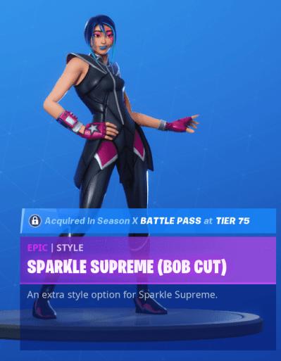 Sparkle Supreme Bob Cut