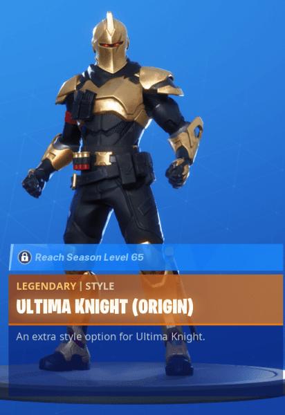 Ultima Knight Origin
