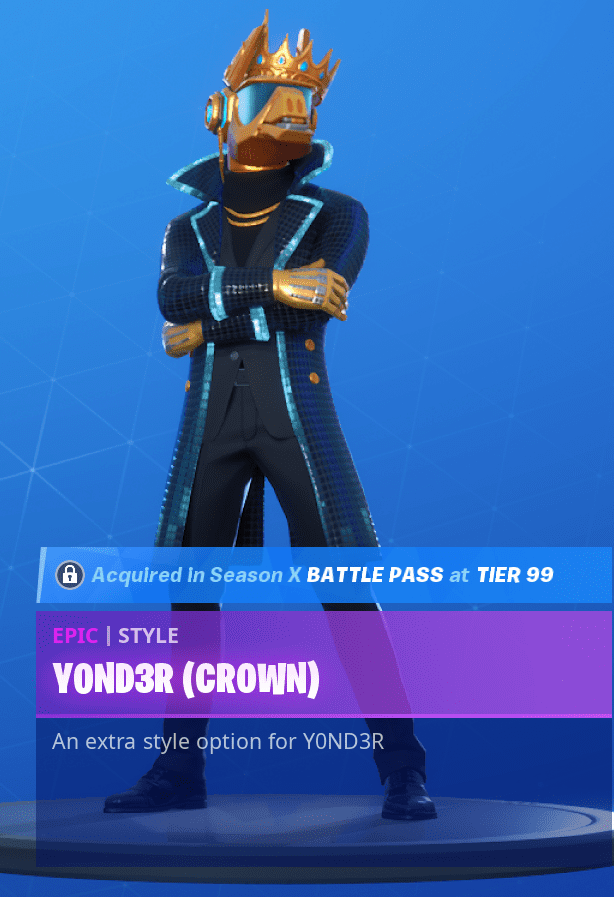 Yond3r Crown