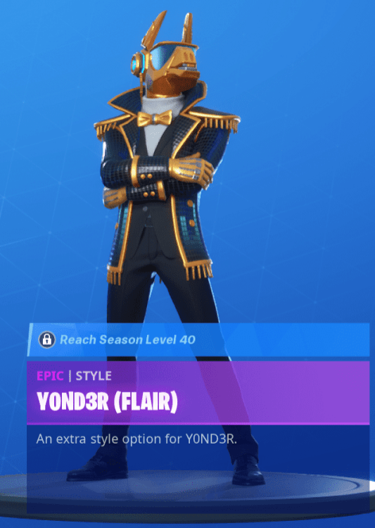 Yond3r Flair
